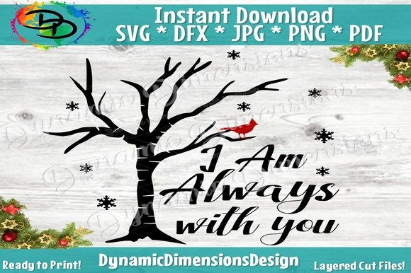 Print on Demand: I Am Always with You Graphic Crafts By dynamicdimensions