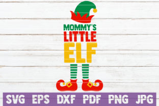 Mommy's Little Elf Graphic By MintyMarshmallows