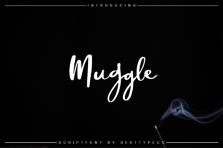 Muggle Font By besttypeco