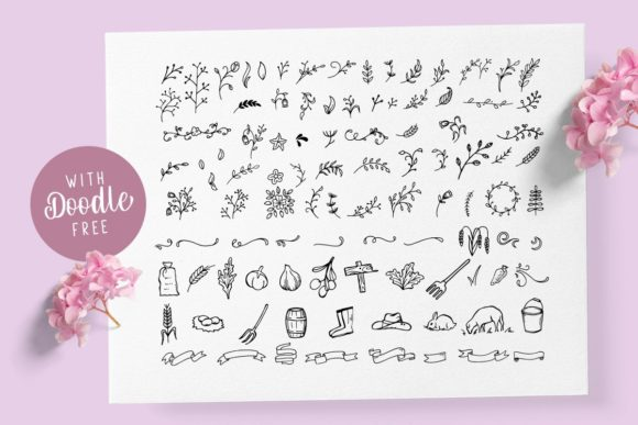Print on Demand: Olive Family Script & Handwritten Font By letterhend - Image 9