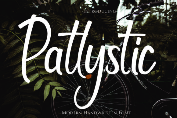 Print on Demand: Patylistic Script & Handwritten Font By Gilar Studio - Image 1