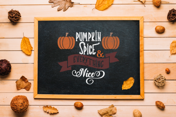Pumpkin Spice & Everything Nice Graphic By ElsieLovesDesign Image 2