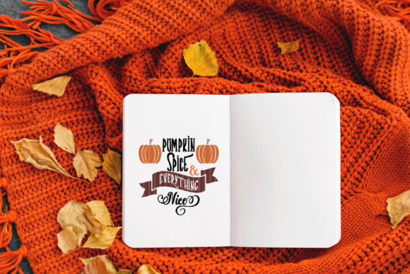 Pumpkin Spice & Everything Nice Graphic By ElsieLovesDesign Image 3