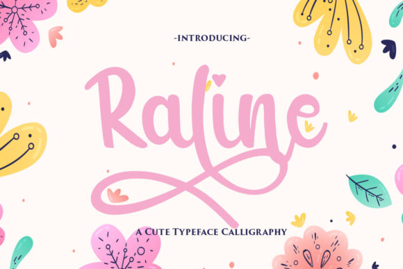 Print on Demand: Raline Script & Handwritten Font By Gilar Studio