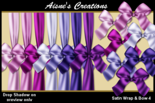 Satin Wrap & Bow 4 Graphic By Aisne