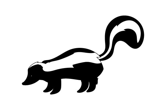 Skunk Animals Craft Cut File By Creative Fabrica Crafts - Image 2