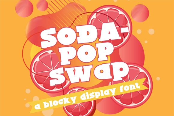 Print on Demand: Sodapop Swap Serif Font By Illustration Ink - Image 1