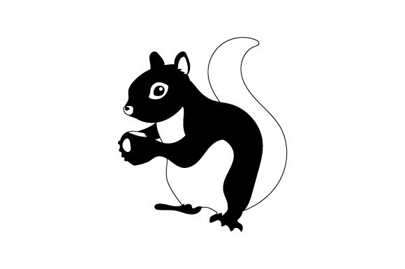 Squirrel Animals Craft Cut File By Creative Fabrica Crafts - Image 2