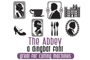 Print on Demand: The Abbey Dingbats Font By Illustration Ink