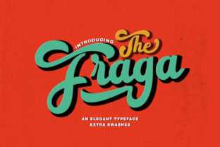 The Fraga Script Font By typehill