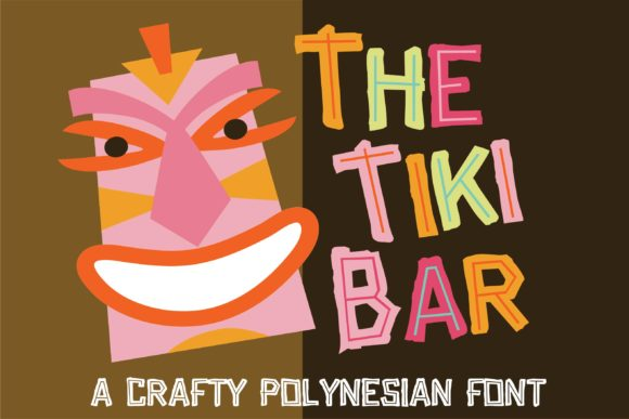 Print on Demand: Tiki Bar Display Schriftarten von Illustration Ink