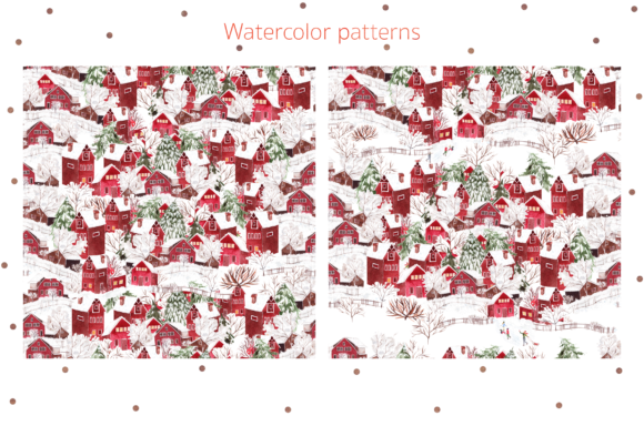 Watercolor Merry Christmas Graphic Objects By Knopazyzy - Image 5