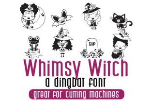 Whimsy Witch Font By Illustration Ink