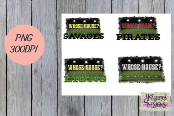Print on Demand: Whose House Bundle Graphic Objects By jk2quareddesigns
