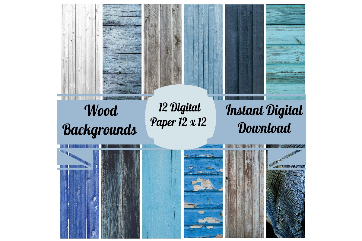 Download Free 12 Wood Art Backgrounds For Scrapbooking Graphic By Scrapbook for Cricut Explore, Silhouette and other cutting machines.