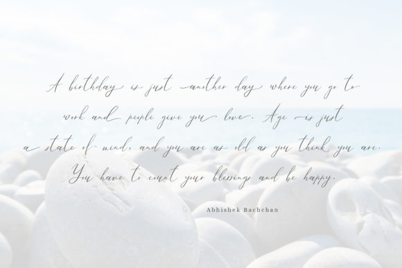 Print on Demand: Ailre Heleris Script & Handwritten Font By Primafox Design - Image 5