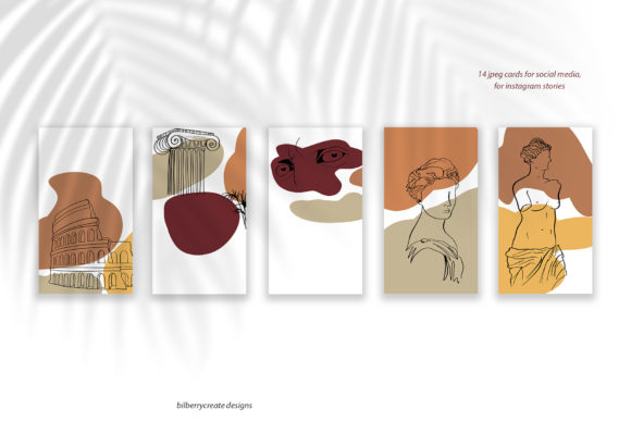 Apollo Greek Collection Graphic Illustrations By BilberryCreate - Image 3