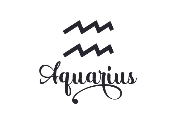 Aquarius Designs & Drawings Craft Cut File By Creative Fabrica Crafts - Image 1