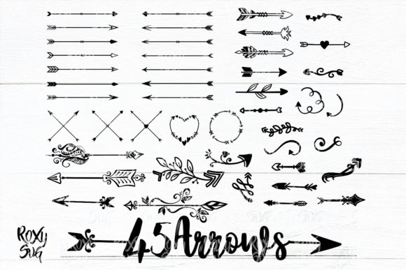 Print on Demand: Arrows Graphic Crafts By roxysvg26