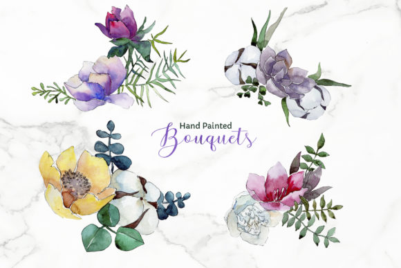 Bouquet of Flowers Vienna Waltz Png Graphic By MyStocks Image 2