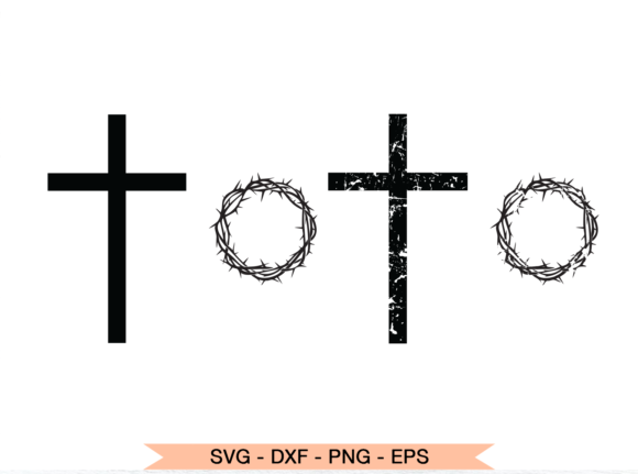 Print on Demand: Christian Cross Graphic Crafts By roxysvg26