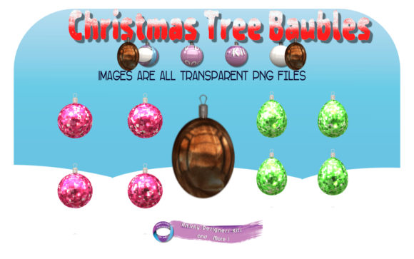 Print on Demand: Christmas Baubles & Bonuses Graphic Illustrations By Angela H. Evans
