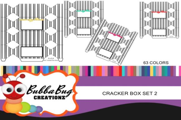 Cracker Box Set 2 Graphic Crafts By BUBBABUG - Image 1
