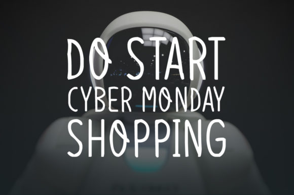 Cyber Monday Font Download