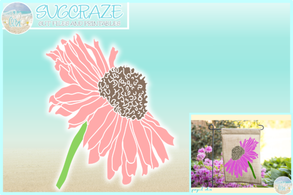 Print on Demand: Daisy Flower Garden Floral Gráfico Crafts Por Harbor Grace Designs