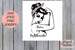 Fight Like a Mother Autism Graphic By jk2quareddesigns