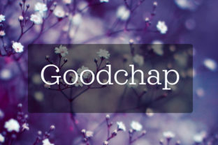 Goodchap Font By in.maddesigns