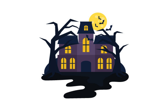 Download Free Haunted House Svg Cut File By Creative Fabrica Crafts Creative Fabrica for Cricut Explore, Silhouette and other cutting machines.