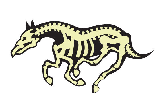 Horse Skeleton Halloween Craft Cut File By Creative Fabrica Crafts