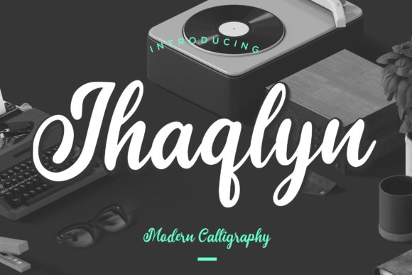 Print on Demand: Jhaqlyn Script & Handwritten Font By CreatypeStudio