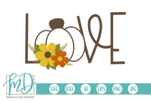 Love Pumpkin Graphic By Morgan Day Designs
