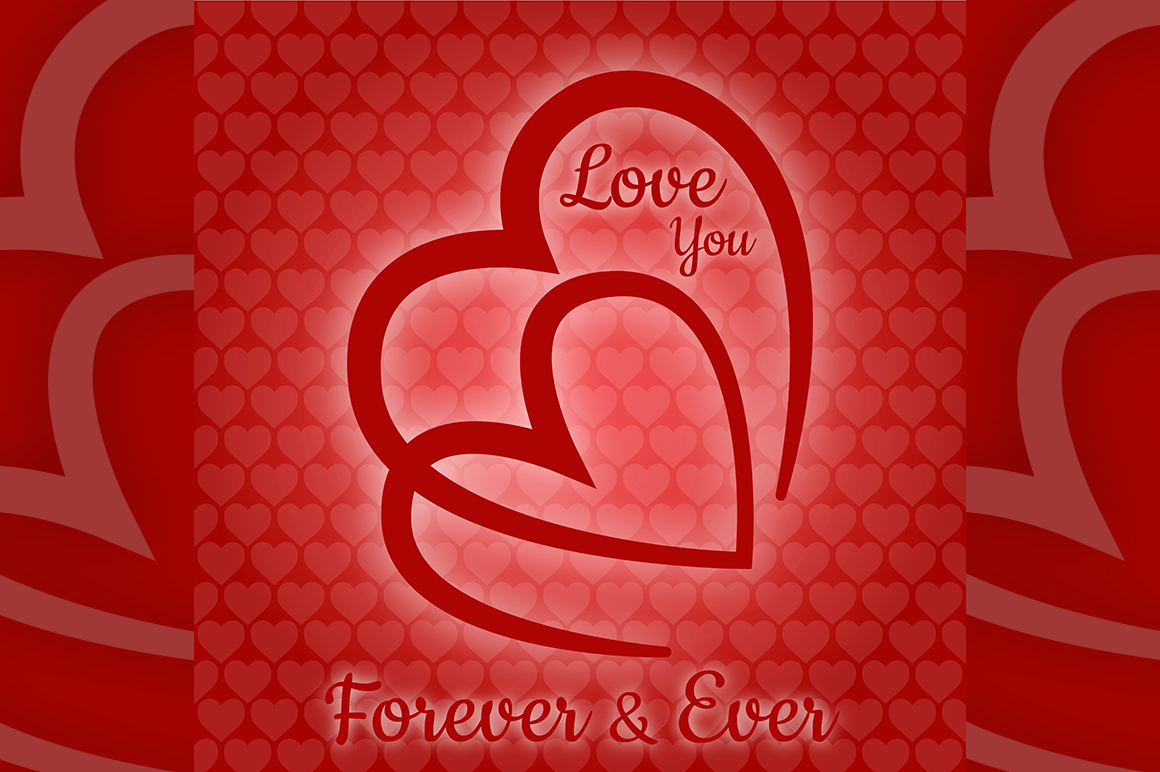 Download Free Love You Forever Ever Vector Graphic By Creative Market for Cricut Explore, Silhouette and other cutting machines.