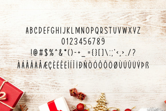 Print on Demand: Merry Display Font By Instagram Fonts - Image 4