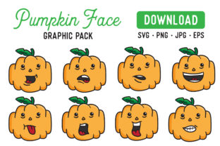 Pumpkin Vector Clipart Pack Graphic By The Gradient Fox