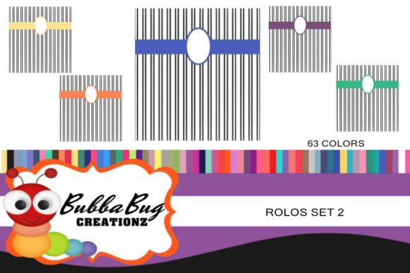 Rolos Set 2 Graphic Crafts By BUBBABUG - Image 1