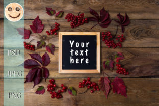 Rustic Square Frame Mockup 2 Graphic By TasiPas