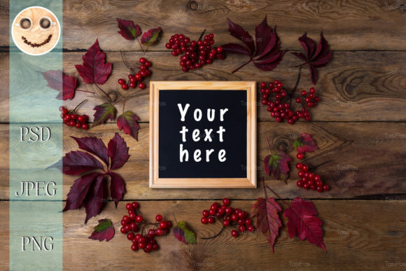 Print on Demand: Rustic Square Frame Mockup 2 Graphic Product Mockups By TasiPas