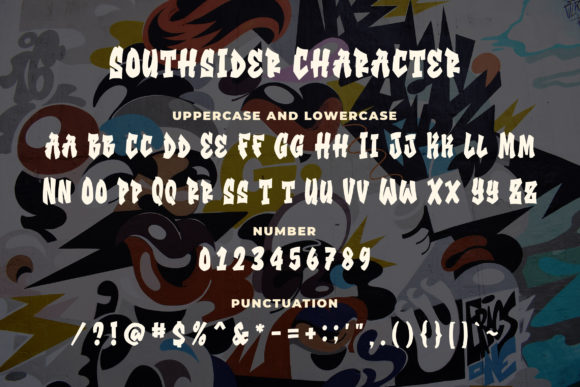 Print on Demand: Southsider Display Font By Blankids Studio - Image 4
