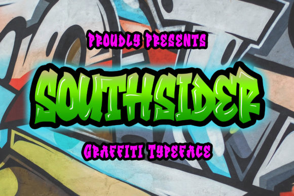Print on Demand: Southsider Display Font By Blankids Studio