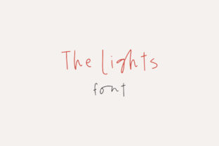 The Lights Font By Dmitrii Chirkov