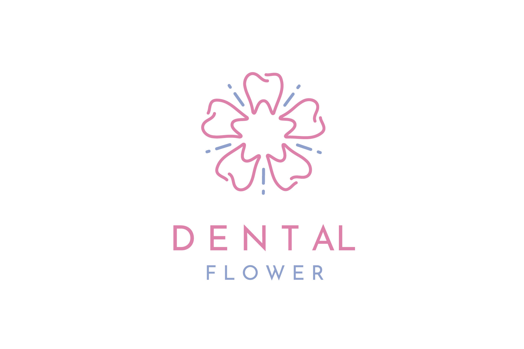 Download Free Tooth And Flower Pattern For Dental Graphic By Enola99d for Cricut Explore, Silhouette and other cutting machines.