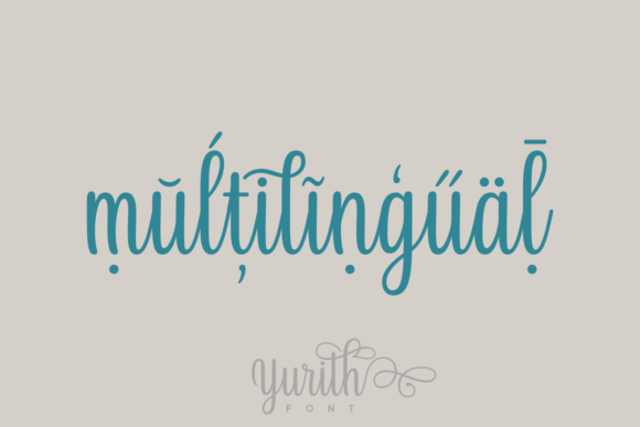 Print on Demand: Yurith Script & Handwritten Font By Situjuh - Image 3