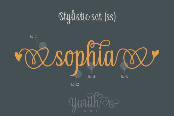 Print on Demand: Yurith Script & Handwritten Font By Situjuh - Image 4