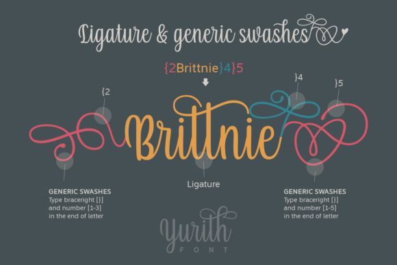 Print on Demand: Yurith Script & Handwritten Font By Situjuh - Image 5
