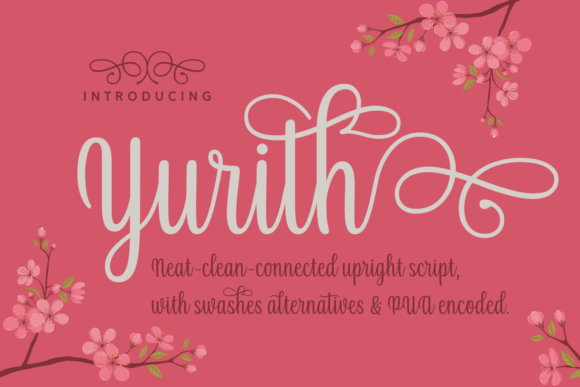 Print on Demand: Yurith Script & Handwritten Font By Situjuh - Image 7