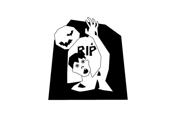 Download Free Zombie Climbing Out Of Grave Svg Cut File By Creative Fabrica Crafts Creative Fabrica for Cricut Explore, Silhouette and other cutting machines.